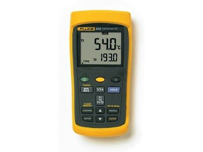 Fluke 54-2 B 60HZ Dual Input Thermometer with USB Recording