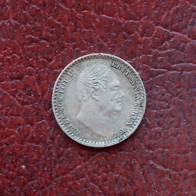 William III 1833 maundy silver penny