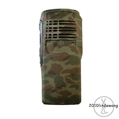 Camouflage Replacement Housing with Speaker for Motorola HT750 Portable Radio