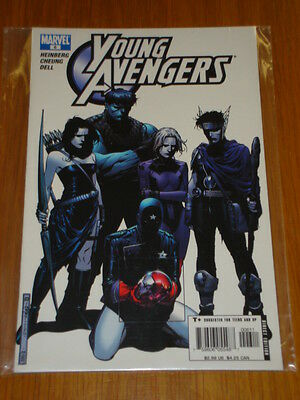 Young Avengers #6 Marvel Comic Near Mint Condition September 2005