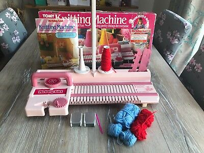 Vintage tomy hobby girl knitting machine from 1984 | ebay.