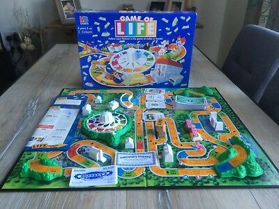 Mb Games Game Of Life Vintage Family Board Game Instructions Only