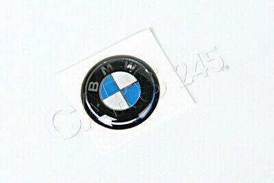 Genuine BMW E46 Compact Convertible Key Fob Logo Emblem 11mm OEM 66122155753