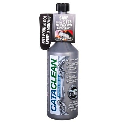 CataClean Diesel Fuel Car Engine DPF Exhaust System Catalytic Cleaner 500ml