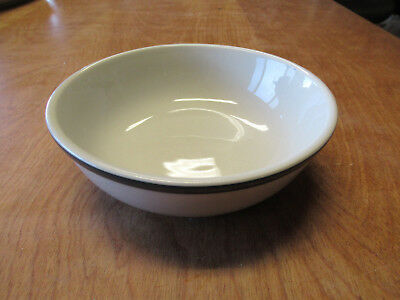 "Tienshan KITCHEN BASICS GREEN BAND Soup Cereal Bowls 6"" 1 ea    10 available"