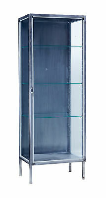 Mid 20Th Century Polished Steel Medical Cabinet