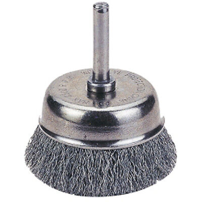 "Firepower 1423-2107 Cup Brush, 2 1/2"", Crimped Wire"