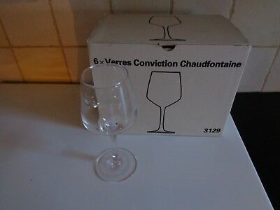 Chaudfontaine Conviction glas verre glass new new 1 piece