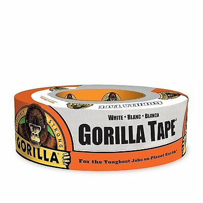 "Gorilla Glue 6025001 Duct Tape, 1.88"" x 30 yd, White"