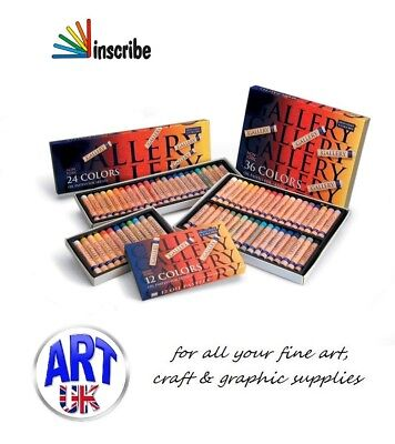 Inscribe Gallery Mungyo Artists Soft Oil Pastels Assorted Colour Packs gift sets