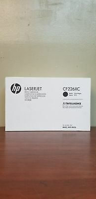 genuine HP  CF226XC  CF226X Black High Yield Original LaserJet Toner Cartridge