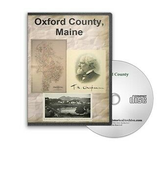Oxford County Maine ME History Culture Family Genealogy 5 Books - B385