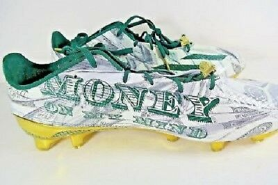 336163ca990 Adidas Adizero 5.0 Snoop Dogg Money Green Gold D70177 Size 9 Football Cleats