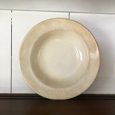 Wood Son & Co. Antique Ironstone bowl with stunning patina!