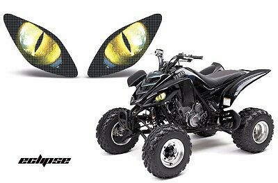 AMR Racing Headlight Graphic Decals Cover Yamaha Raptor 660 Parts 01-05 ECLIPSE