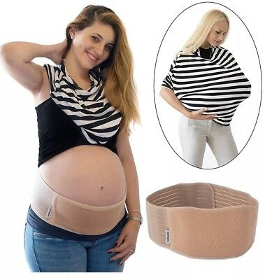 Pregnancy Belt And Baby Breastfeeding Cover Brand New