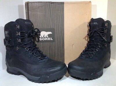 b33ab932c77 ITASCA MENS BROWN/BLACK Lace Up Thinsulate Winter Boots With Insert ...