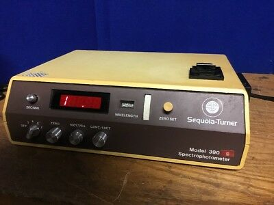 Sequoia Turner Spectrophotometer 390