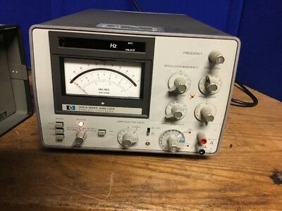 hp Wave Analyzer 3581A