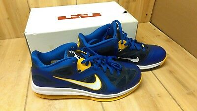 on sale 8197d 7b44a Nike Lebron 9 Low - Size 13 - Game Royal University Gold-Mid Navy
