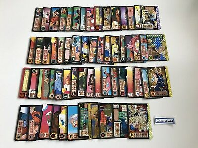 Lot De 60 Cartes Dragon Ball Z Carddass - JAP - 1995