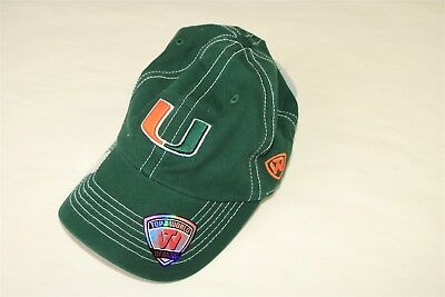 new style 371d7 c7f65 Miami Hurricanes - Top Of The World Women s Stitched Slide Adjustable Hat  Cap