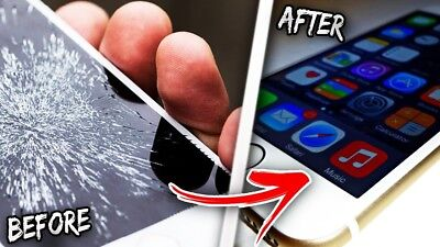 Apple iPhone 7 Cracked Screen Glass digitizer and lcd Repair replacement Service