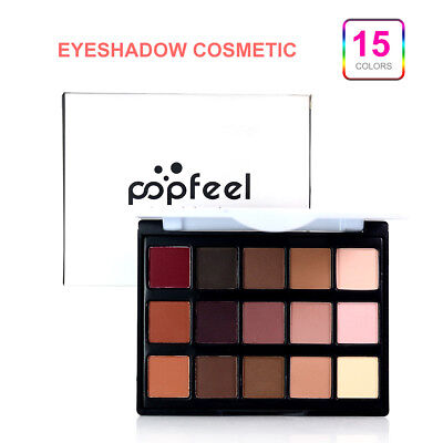 15 Colors Eyeshadow Cosmetic Makeup Cream Neutral Nudes Warm Eye shadow Palette
