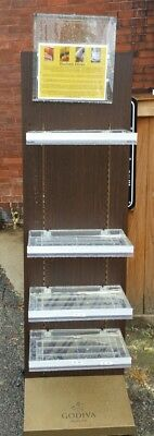 Over Top Tray Acrylic Clear Plastic Retail Display Sign (hxx)