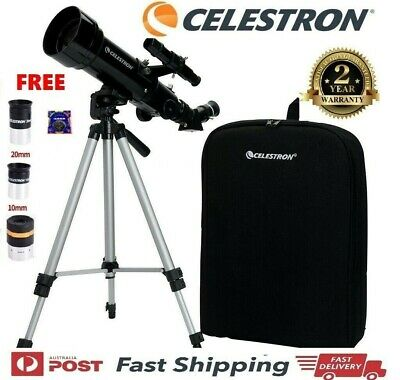 New CELESTRON TS70400 Travel Portable Scope Terrestrial Astronomical Telescope