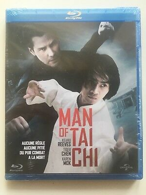 Man of Tai Chi BLU RAY NEUF SOUS BLISTER Keanu Reeves - Tiger Chen
