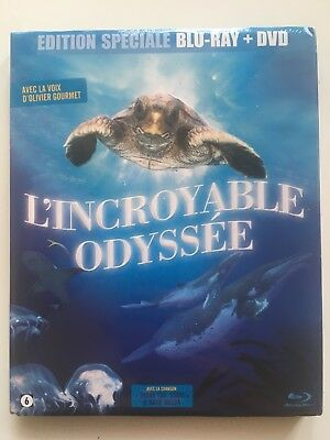 BLU RAY + DVD neuf °°L'INCROYABLE ODYSSEE° Documentaire Tortue - Nick Stringer