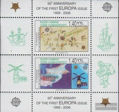 Turkish-Cyprus Block24A (complete issue) unmounted mint / never hinged 2006 50 y