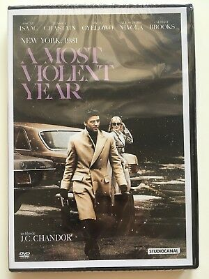 A most violent year DVD NEUF SOUS BLISTER Oscar Isaac - Jessica Chastain