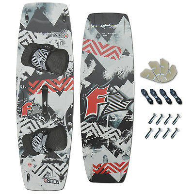 F2 KITEBOARD ~ F2 RODEO 141 x 43 CM + F2 PADSET + FINNEN + HANDLE