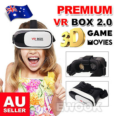 2019 VR Headset VR BOX Virtual Reality Glasses 3D for Samsung Iphone X 8 7 Plus
