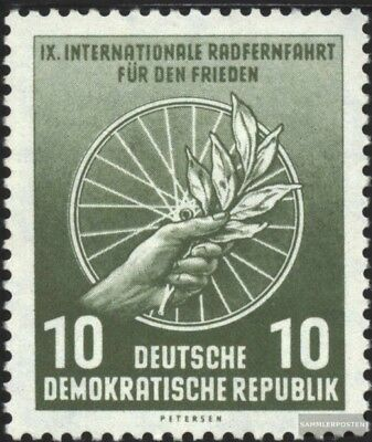 DDR 521 unmounted mint / never hinged 1956 International Radfernfahrt for the