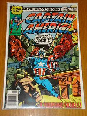 Captain America #227 Marvel Comic Near Mint Condition November 1978