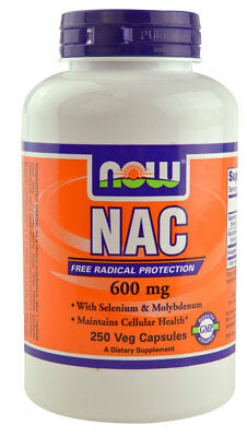 250g, 13,65 EUR/100g NOW Foods NAC N-Acetyl Cysteine with Selenium & Molybdenum
