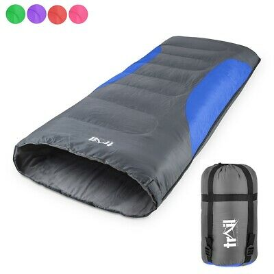 Adult 2 Season Sleeping Bag Lightweight Envelope Single Person Trail Outback 200