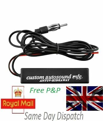 Powerfull Electronic Universal Hidden Radio Ariel AM FM Amplified Antenna L80