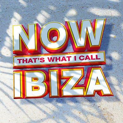 NOW THATS WHAT I CALL IBIZA (Various Artists) 3 CD SET (2018) (New & Sealed)