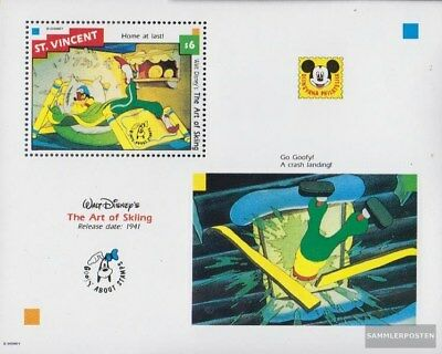 St. Vincent Block244 (complete issue) unmounted mint / never hinged 1992 Walt-Di