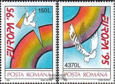 Romania 5084-5085 (complete issue) unmounted mint / never hinged 1995 Europe
