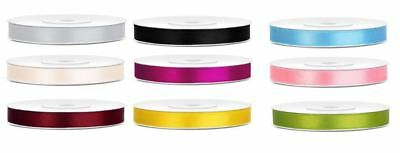 Double sided satin ribbon 6mm crafts decoration florist gift wrapping