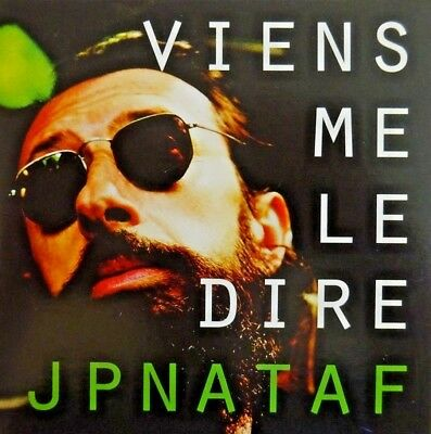 Jp Nataf : Viens Me Le Dire - [ Promo Cd Single ]
