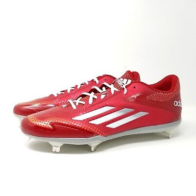official photos 45d07 5c558 Adidas Adizero Afterburner 2.0 Men s Metal Baseball Cleats Red S84700 Size  13