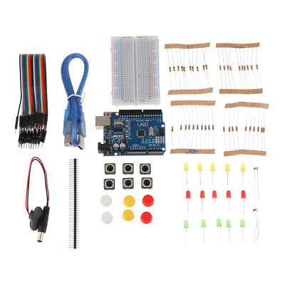 Ultimate UNO R3 Starter Kit Mini Steckbrett mit Jumper Wire LED für Arduino
