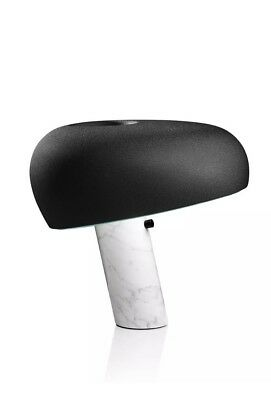 Snoopy Limited Edition Nero Lamp By Castiglioni For Flos Design New In Box