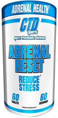 60g, 49,70 EUR/100g CTD Sports Adrenal Reset  - 60 tabs